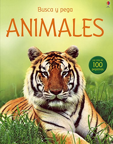 9781409501893: ANIMALES. (CON PEGATINAS) (Spanish Edition)