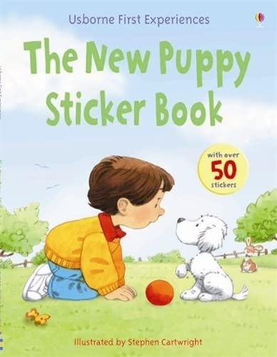 The New Puppy (Usborne First Experiences): Anna Civardi