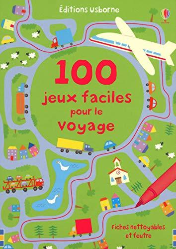 9781409502753: 100 JEUX FACILES POUR LE VOYAGE