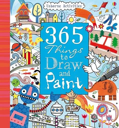 9781409504474: 365 Things To Draw And Paint: Activity Cards Spiral Bound Edition (Art Ideas)