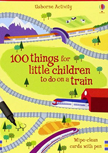 9781409504481: 100 Things for Little Children to Do on a Train (Activity Cards)