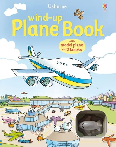 9781409504504: Wind-up Plane Book (Usborne Wind-up Books)