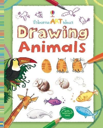 9781409505068: Drawing Animals (Usborne Art Ideas)