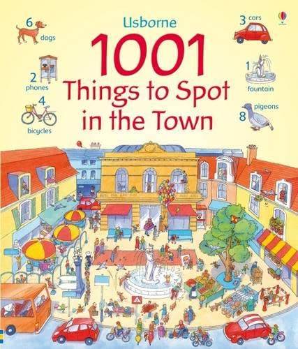 9781409505150: 1001 Things to Spot In the Town