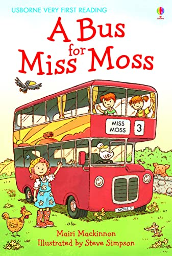 9781409507055: A Bus for Miss Moss (First Reading) (1.0 Very First Reading)