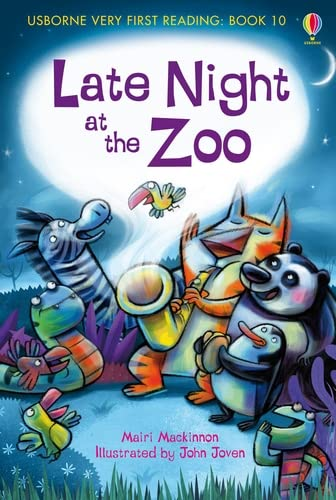 9781409507123: Late Night at the Zoo (Usborne Very First Reading)