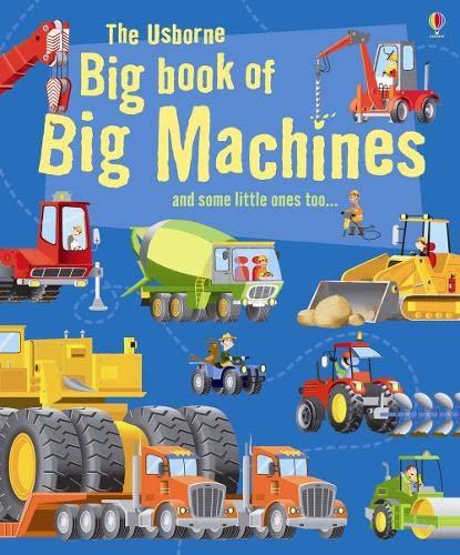 9781409507314: The Usborne Big Book of Big Machines (Big Books of Big Things)