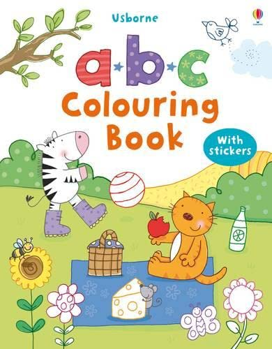 9781409507352: ABC Colouring Book with stickers (First Colouring Books with stickers)