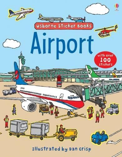 9781409507369: Airport Sticker Book (Usborne Sticker Books)