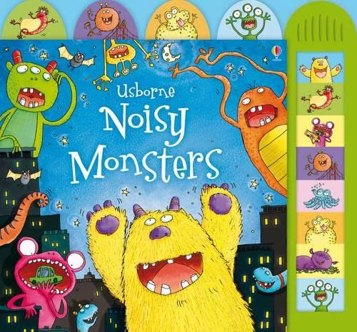 9781409507390: Noisy Monsters (Usborne Noisy Board Books) (Noisy Books)