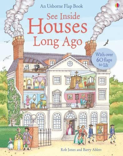 9781409507444: See Inside Houses Long Ago (Usborne See Inside)