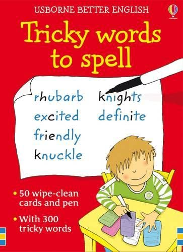9781409507482: Tricky Words to Spell (Activity Cards)