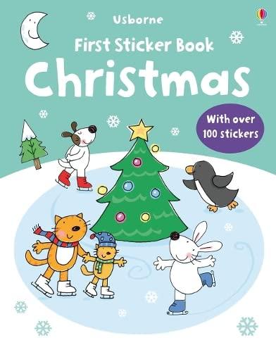 9781409507642: Christmas (Usborne First Sticker Books)