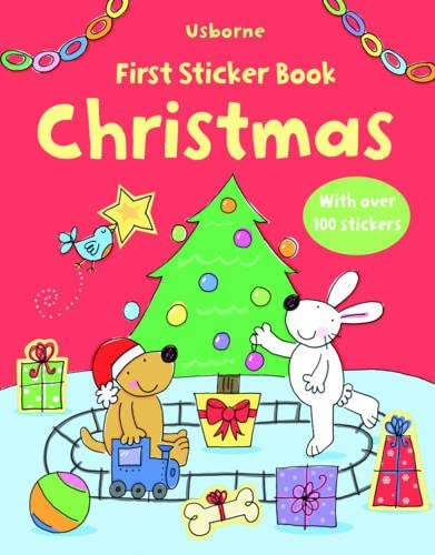 9781409507642: First Christmas Sticker Book (First Sticker Books)