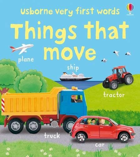 9781409507710: Very First Words: Things That Move