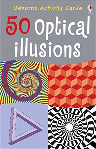 9781409507796: 50 Optical Illusions (Usborne Activity Cards) (Activity and Puzzle Books)