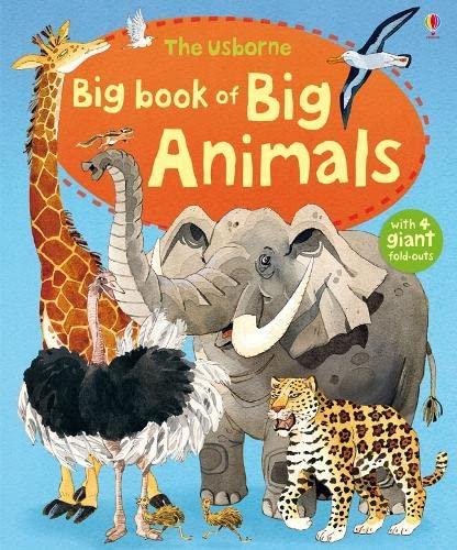 9781409507994: Usborne Big Book of Big Animals (Usborne Big Books)