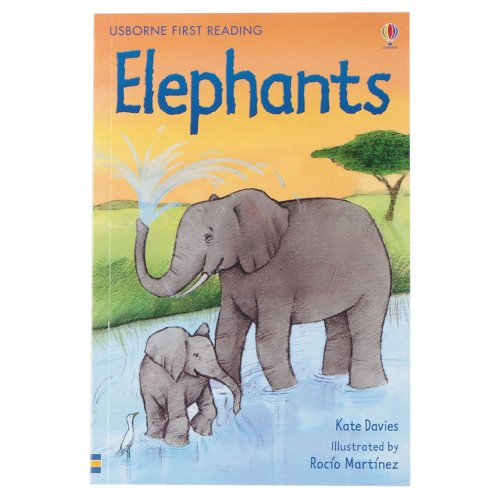 9781409508335: Elephants (First Reading Level 4)