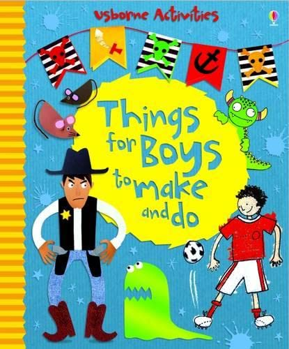 9781409508441: Things for Boys to Make and Do (Usborne Activities)