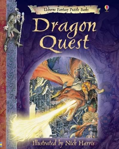 9781409508526: Dragon Quest (Usborne Fantasy Adventure)