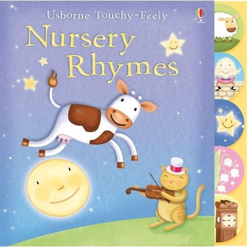 9781409508564: Touchy-feely Nursery Rhymes (Usborne Touchy Feely Books)