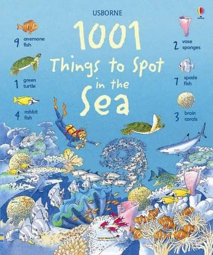 9781409508595: 1001 Things to Spot in the Sea (Usborne 1001 Things to Spot)