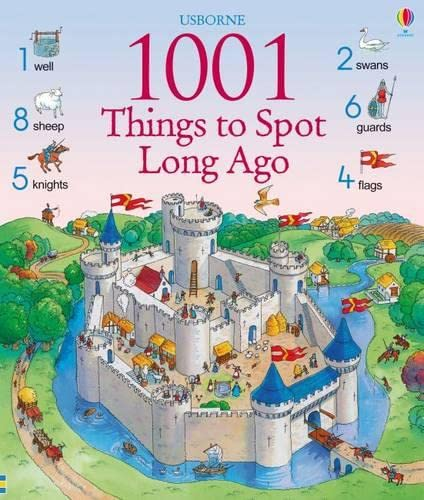 9781409508625: 1001 Things to Spot Long Ago