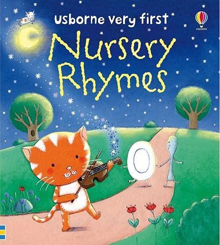 9781409508946: Nursery Rhymes (Usborne First Words Board Books)