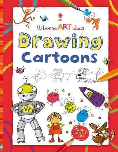 9781409508960: Drawing Cartoons (Usborne Art Ideas)