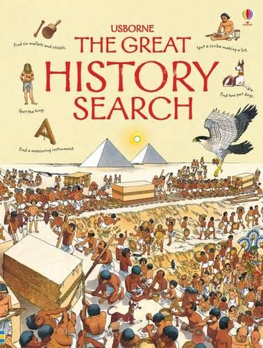 9781409509189: The Great History Search (Usborne Great Searches)