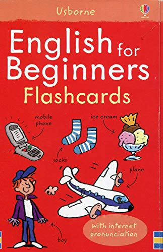 9781409509196: English For Beginners Flashcards