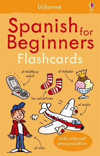 9781409509202: Spanish For Beginners Flashcards (Language for Beginners)