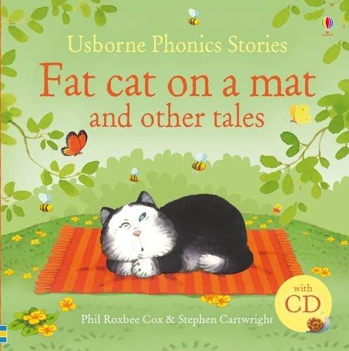 9781409509233: Fat cat on a mat and other tales. Ediz. illustrata. Con CD