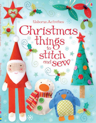 9781409509455: Christmas Things To Stitch And Sew - Usborne Activities