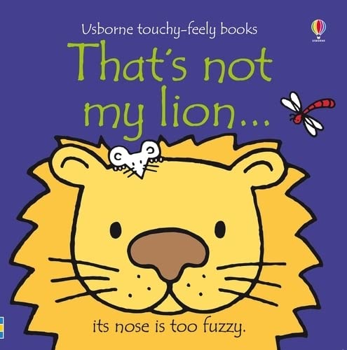 9781409509936: That's Not My Lion...(Usborne Touchy-Feely Books)