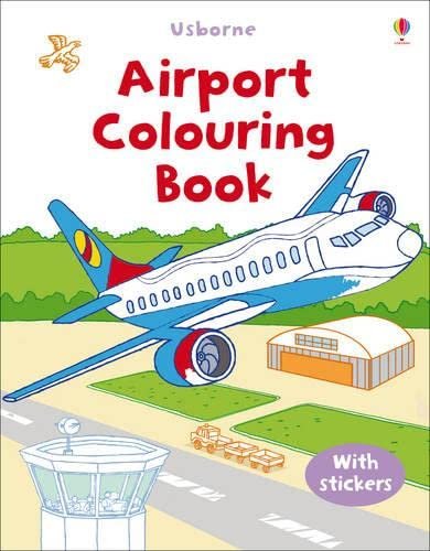 9781409510055: Airport (Usborne First Colouring Books)