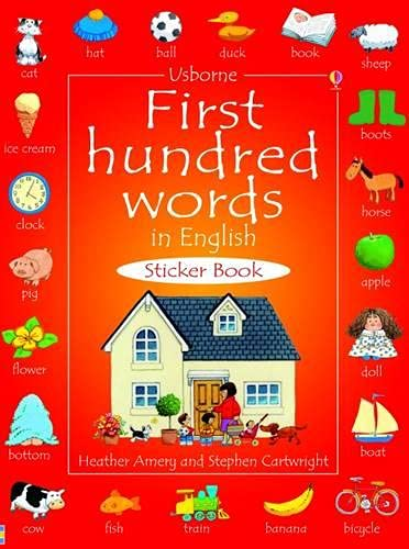 9781409510062: First Hundred Words in English