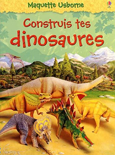 9781409513841: Contruis tes dinosaures - nouvelle couverture