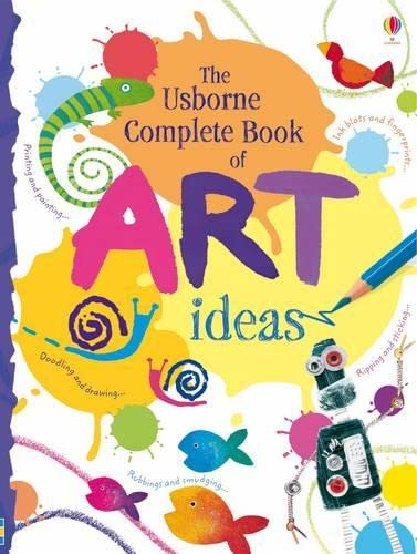 9781409514268: Complete Book of Art Ideas (Usborne Art Ideas)