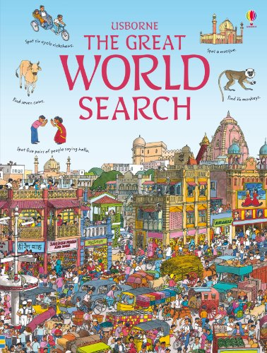 9781409514299: Great World Search (Usborne Great Searches)