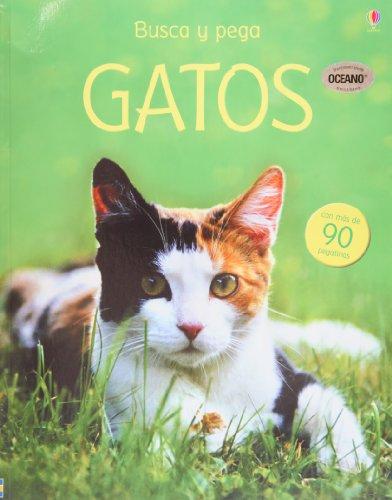 9781409516309: Gatos. Busca y pega (Spanish Edition)