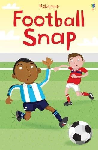 9781409516811: Football Snap (Usborne Snap Cards)