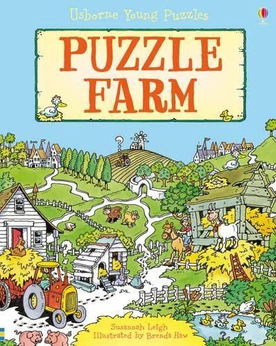9781409516880: Puzzle Farm (Usborne Young Puzzles)