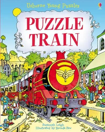 9781409516897: Puzzle Train (Usborne Young Puzzles)