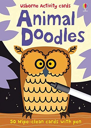 9781409517023: Usborne Activity Cards Animal Doodles (Activity and Puzzle Cards)