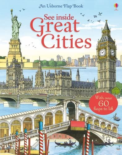9781409519041: See Inside Great Cities (Usborne See Inside)