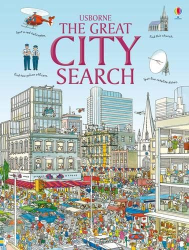 9781409519058: Great City Search (Usborne Great Searches)