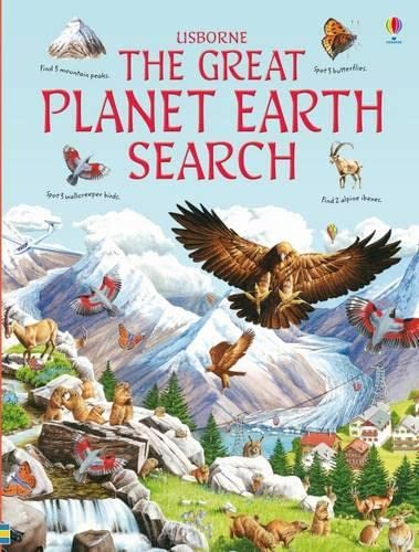 Great Planet Earth Search (Usborne Great Searches): Helbrough, Emma