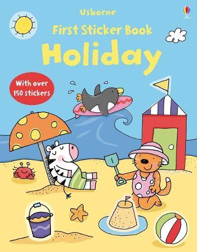 9781409520467: Holiday (Usborne First Sticker Books)