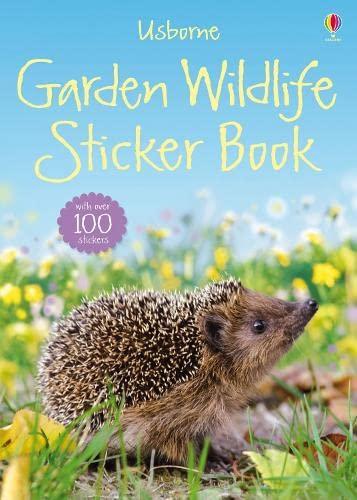 9781409520566: Garden Wildlife Sticker Book (Usborne Spotter's Sticker Guides)